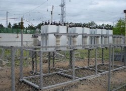Электромонтажные работы на станции Бумкомбинат